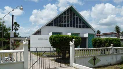 the evangelical lutheran church in guyana elcg